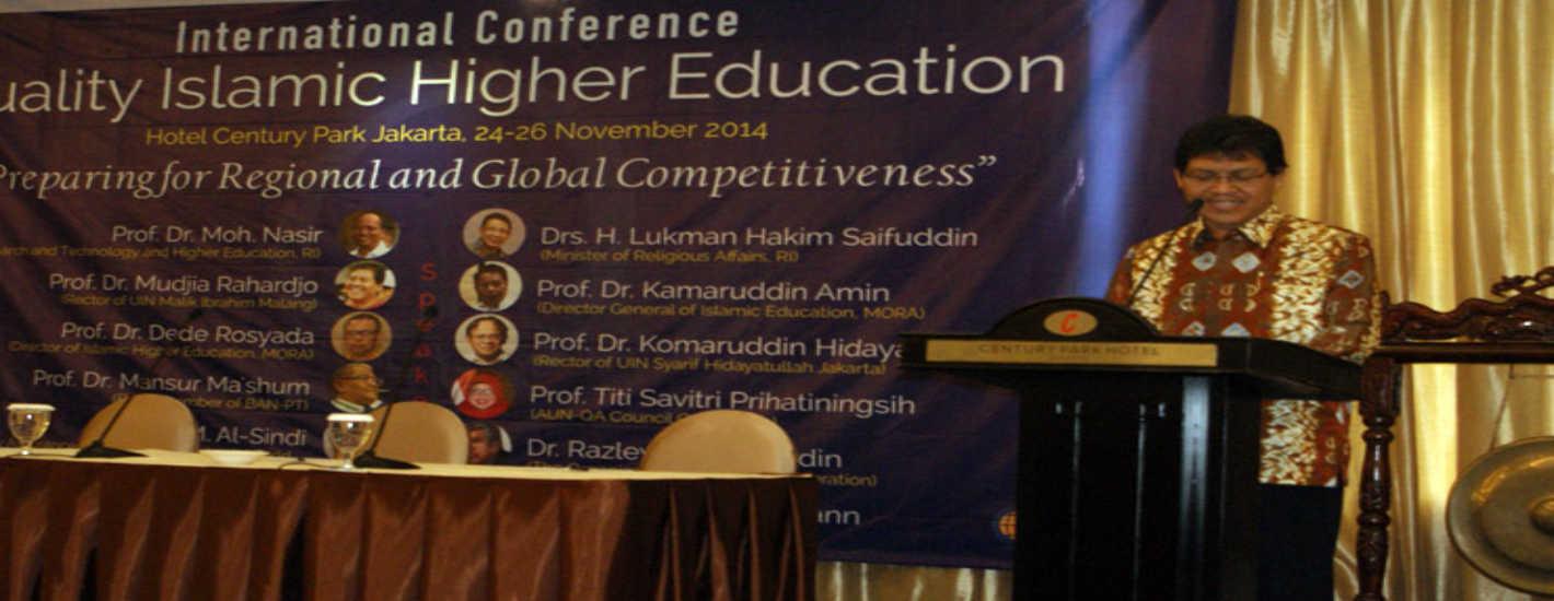 Sambutan Rektor pada International Conference