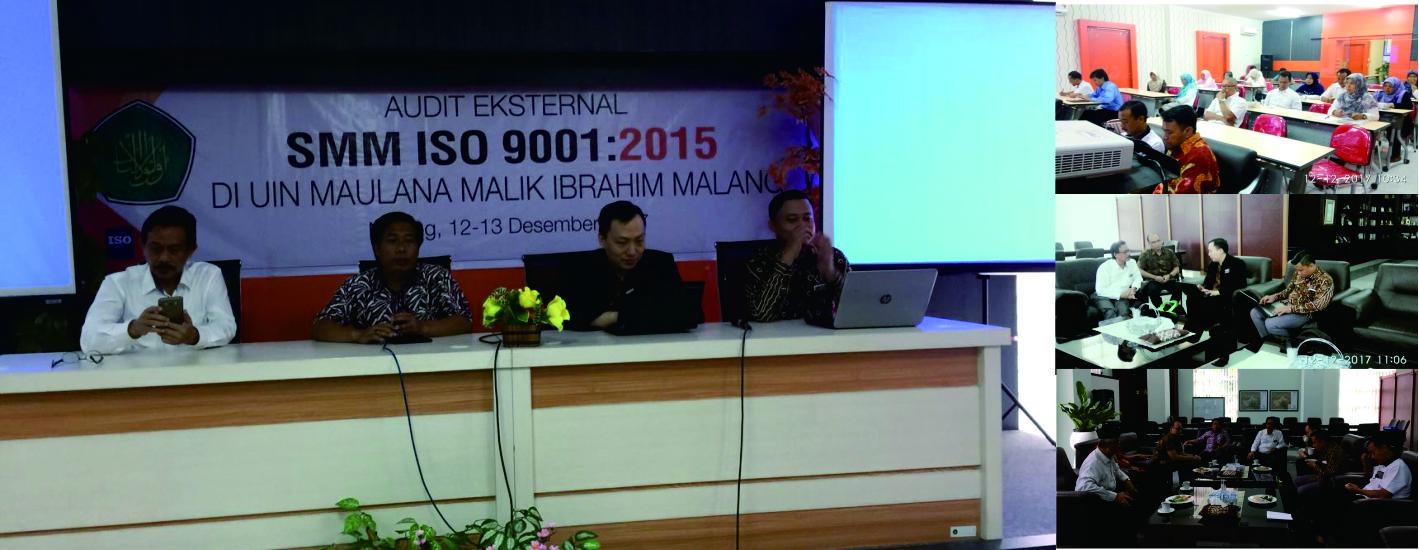 UIN Malang Mengadakan Audit Sertifikasi SMM ISO 9001:2015